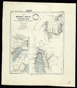 Map of the Rusizi Basin and North Tanganyika according to Stanley, Livingstone, Burton, Speke