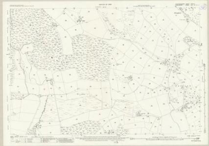 Staffordshire XXVIII.4 (includes: Cheswardine; Eccleshall; Tyrley) - 25 Inch Map