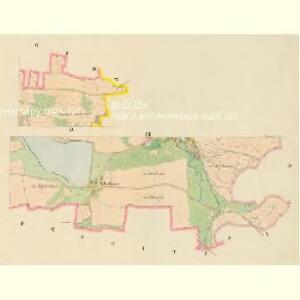 Dražowitz (Dražowice) - c1525-1-004 - Kaiserpflichtexemplar der Landkarten des stabilen Katasters
