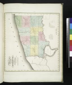 Map of the county of Niagara / by David H. Burr ; engd. by Rawdon Clark & Co., Albany, & Rawdon Wright & Co., N. York.