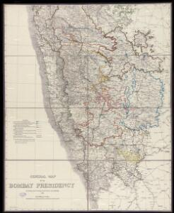 General Map of the Bombay Presidency