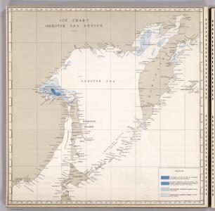 Ice Chart, Okhotsk Sea Region, July.