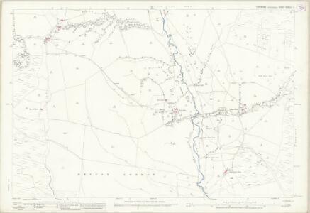 Yorkshire CXXXIII.11 (includes: Bordley; Flasby With Winterburn; Hetton; Rylstone) - 25 Inch Map