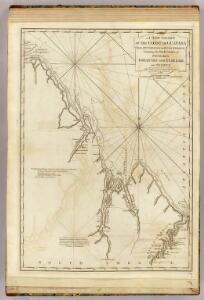 A new chart of the coast of Guyana from Rio Orinoco to River Berbice.