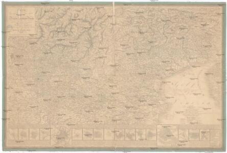 Carta geografica e postale del regno Lombardo-Veneto