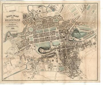 Kay's plan of Edinburgh.