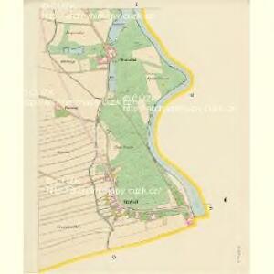 Vierhöf - c1045-1-004 - Kaiserpflichtexemplar der Landkarten des stabilen Katasters