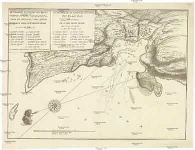 Istreblenije ottomanskago flota russijskoju Jeskadroju pod predvolitelstvom jego sijatel'stva grafa Aleksěja Grigorjeviča Orlova v Česmenskoj gavani v noči na 26 ijunja/7 ijulja 1770