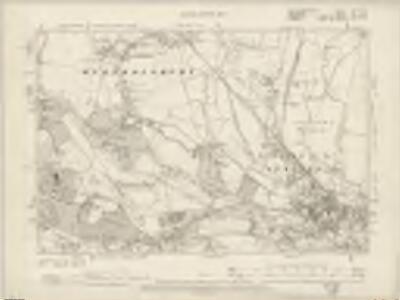 Buckinghamshire LVIII.NE - OS Six-Inch Map