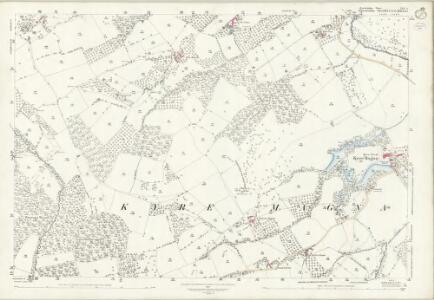 Herefordshire XIII.4 (includes: Bockleton; Kyre; Stoke Bliss; Tenbury) - 25 Inch Map