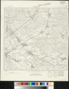 Meßtischblatt 2462 : Bitterfeld (Ost), 1936