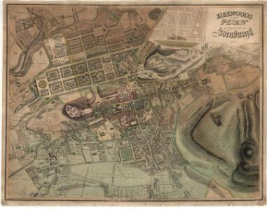 Kirkwood's new plan of the City of Edinburgh.