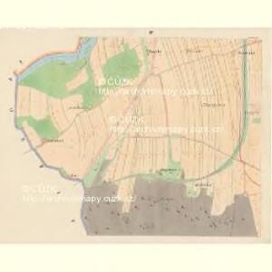 Strodenitz - c6556-1-004 - Kaiserpflichtexemplar der Landkarten des stabilen Katasters