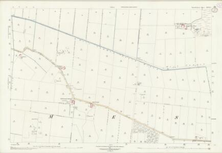 Lincolnshire XXVI.2 (includes: East Butterwick; Messingham) - 25 Inch Map