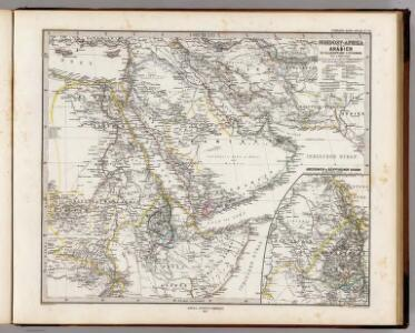 Nordost-Afrika Und Arabien.