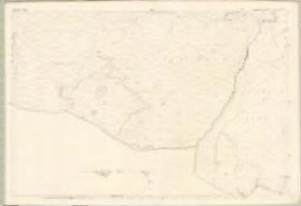 Dumfries, Sheet XLVII.4 (With inset XLVII.8) (Dunscore) - OS 25 Inch map
