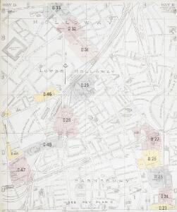 Insurance Plan of London North District Vol. D (Key B): sheet 2
