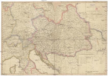 General Karte des Österreichischen Erb-Kaiserthums