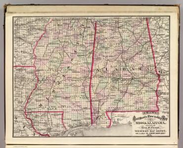 Mississippi & Alabama.