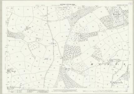 Devon XXXIV.4 (includes: Bampton; Huntsham; Tiverton) - 25 Inch Map