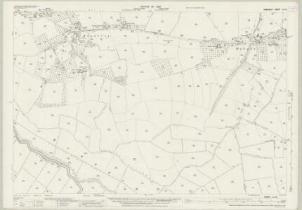 Somerset LII.12 (includes: Baltonsborough; Butleigh; Glastonbury; West Pennard) - 25 Inch Map