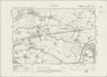 Cheshire XVII.NE - OS Six-Inch Map