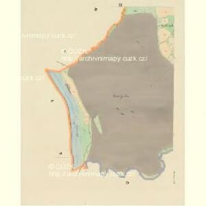 Lischnitz - c4143-1-008 - Kaiserpflichtexemplar der Landkarten des stabilen Katasters